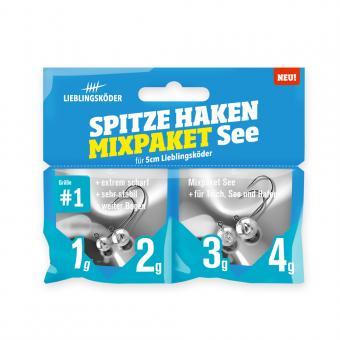Spitze Haken #1 Mixpaket See