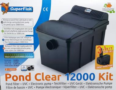 Superfish Pond Clear 12000 Kit 3 in 1