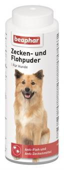 Beaphar Zecken- und Flohpuder für Hunde