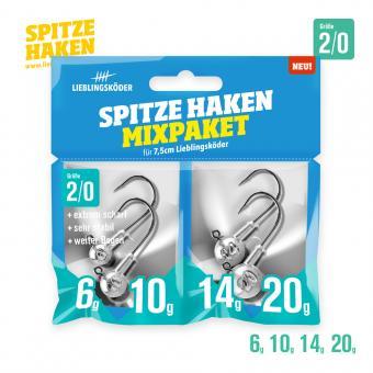 Spitze Haken Mixpaket 3/0