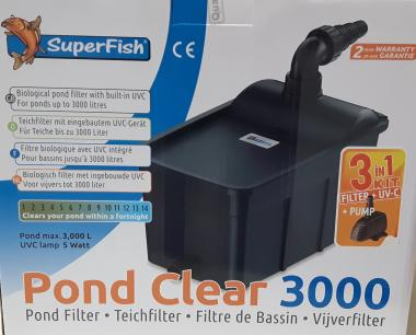 Superfish Pond Clear 3000 Set 3 in 1