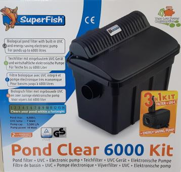 Superfish Pond Clear 6000 Kit 3 in 1