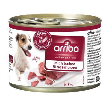 Arriba 6x200gr Dosenfutter für Hunde