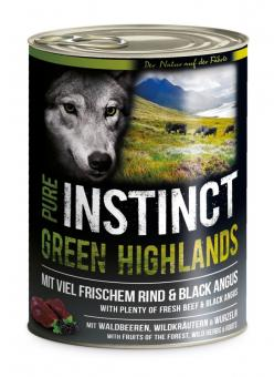 PURE INSTINCT Green Highland 6x800g