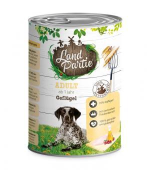 Landpartie 6x400gr Dosenfutter für Hunde