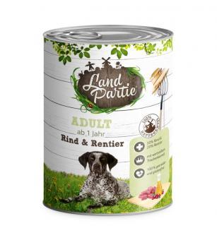 Landpartie 6x800gr Dosenfutter für Hunde