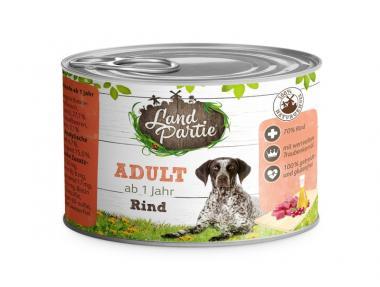 Landpartie 6x200gr Dosenfutter für Hunde