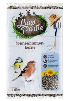 LandPartie 2,5kg Sonnenblumenkerne gestreift