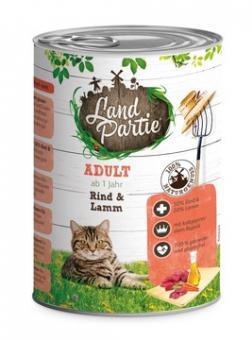 LandPartie 6x400g Dosenfutter für Katzen