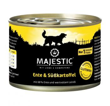 Majestic 6x200gr Dosenfutter für Hunde