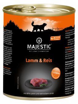 Majestic 6x800gr Dosenfutter für Hunde