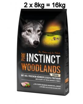 PURE INSTINCT 2x8kg Junior Woodlands
