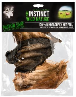 PURE INSTINCT Rinderohren mit Fell