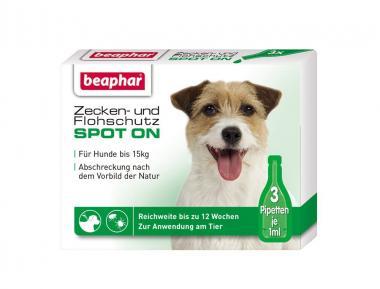 Beaphar Zecken- und Flohschutz Spot-on 3x1ml