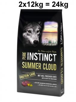 PURE INSTINCT 2x12kg Summer Cloud