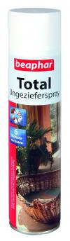 Beaphar Total Ungezieferspray 400ml Flohspray für die Umgebung