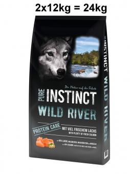PURE INSTINCT 2x12kg Wild River
