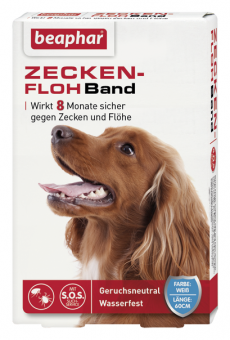 Beaphar Zecken-Flohband 60cm