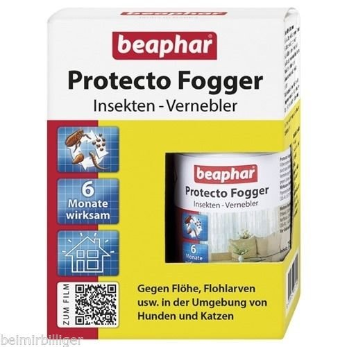 zoogut protecto fogger mini insektenvernebler 4x75ml. Black Bedroom Furniture Sets. Home Design Ideas